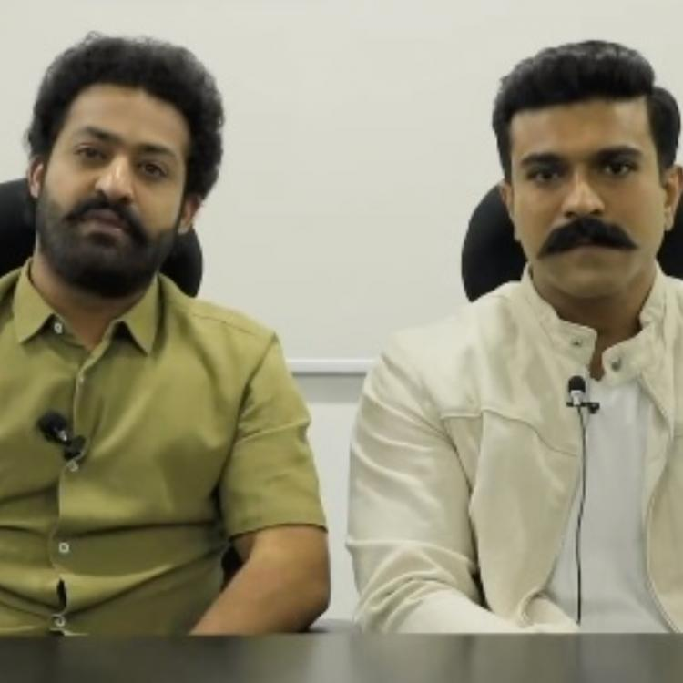 Ram Charan & Jr NTR share precautionary measures amid COVID 19 outbreak; urge everyone to stay safe; Video