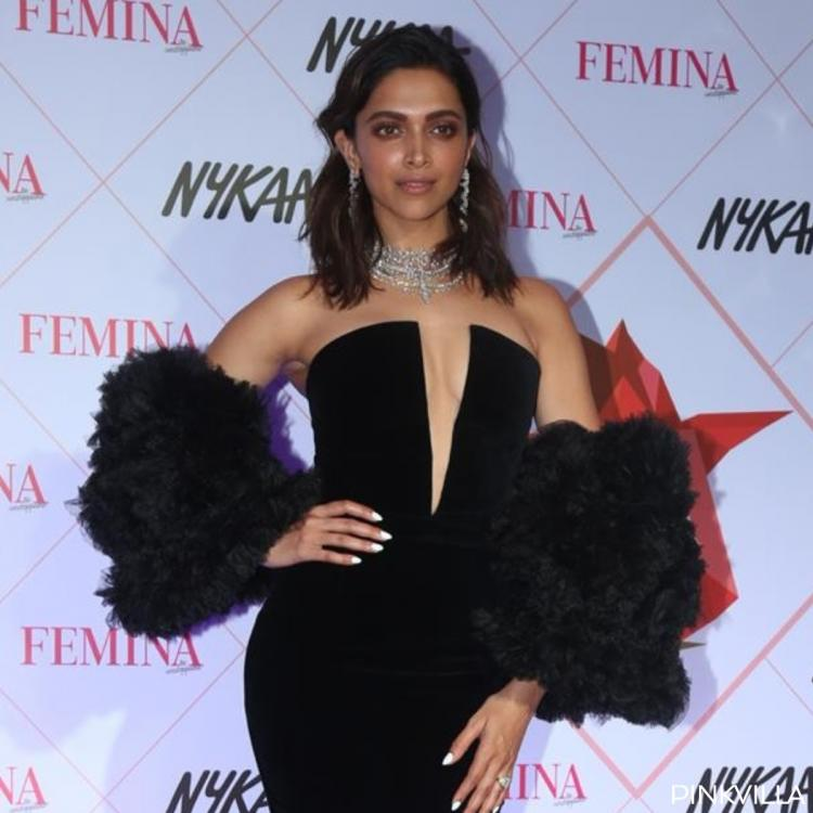 PHOTOS: Deepika Padukone looks gorgeous in her all black avatar at the Femina Beauty Awards