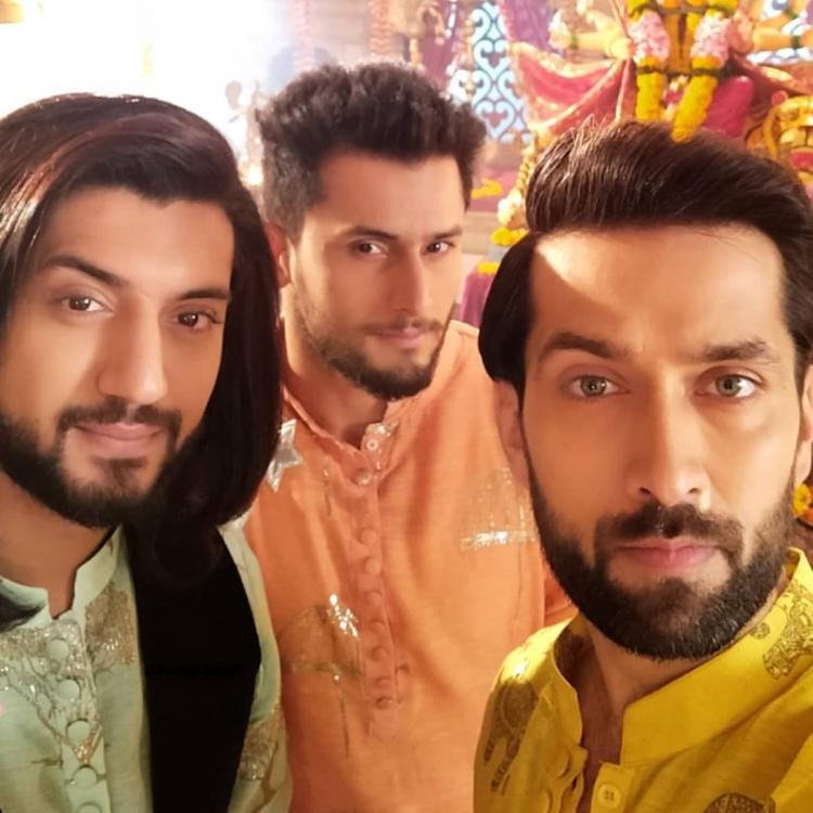Nakuul Mehta wishes former co star Leenesh Mattoo with a throwback video; Fans demand for an Ishqbaaaz reunion