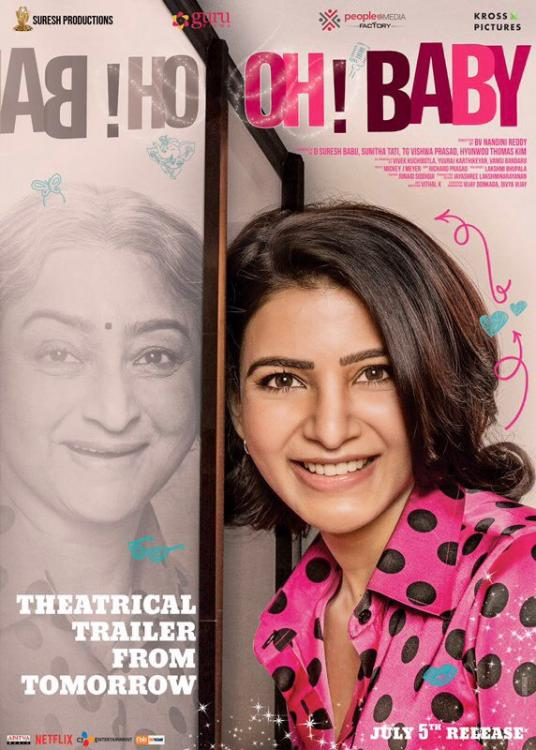 Samantha Akkineni starrer Oh Baby to be remade in Hindi?