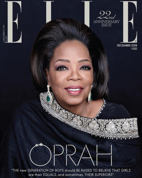 Image result for Elle Magazine [India] oprah
