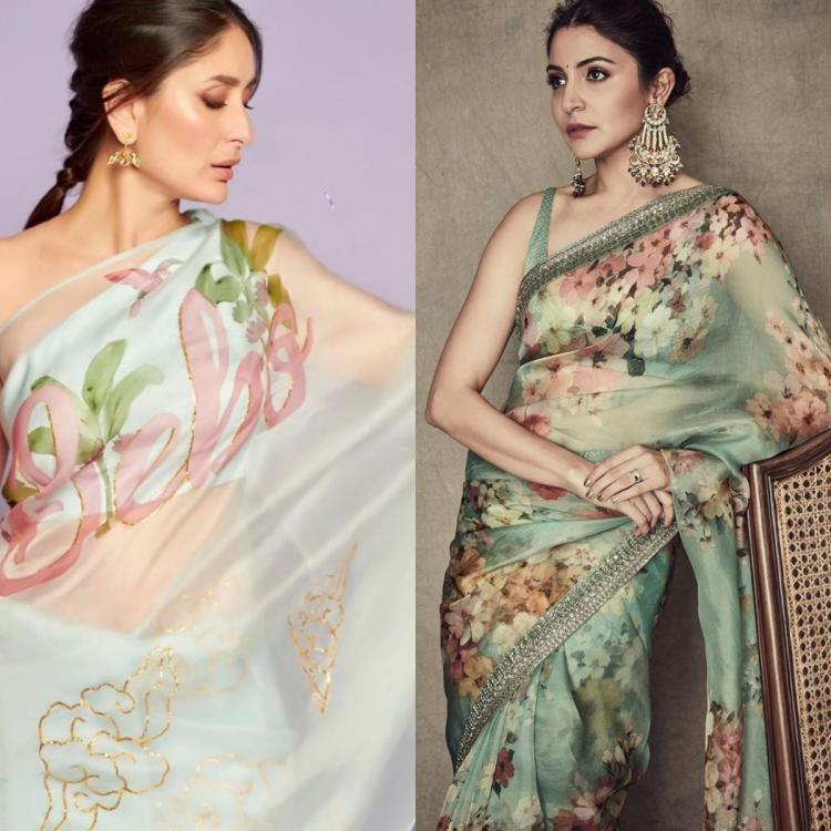 From Kareena Kapoor Khan to Anushka Sharma, Organza saree is the latest obsession of Bollywood divas