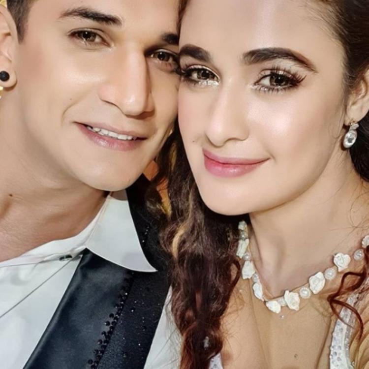 Yuvika Chaudhary shares a cute PIC with hubby Prince Narula along with an inspiring quote