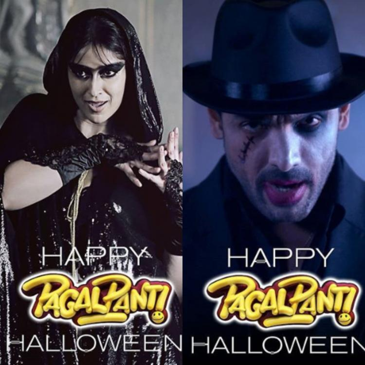 Pagalpanti Posters: John Abraham, Ileana D'Cruz and others will haunt you with their Halloween avatars