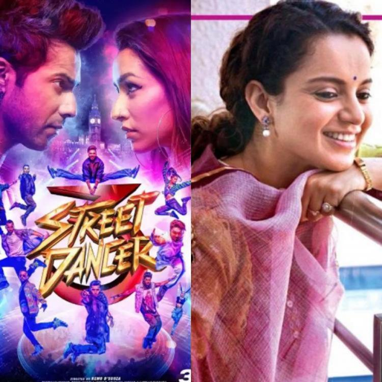 Panga Vs Street Dancer 3D Box Office Occupancy Day 1: Kangana's film lags behind Varun, Shraddha's dance flick