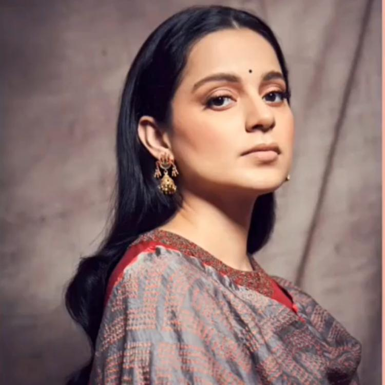 Panga: Kangana Ranaut dons a stunning salwar suit for her upcoming film's promotional outing; Check it out