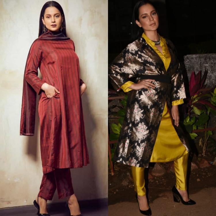 Panga: Kangana Ranaut experiments with her style as she dolls up for her upcoming film's promotions
