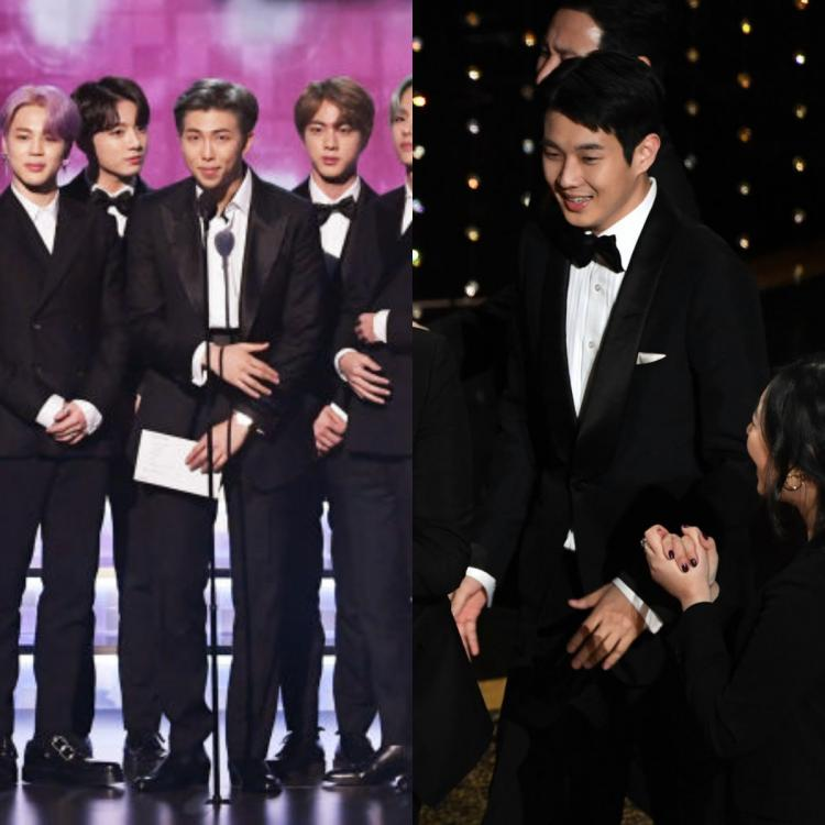BTS congratulates Parasite on Best Picture win; Spot a heartwarming detail about Choi Woo Shik on Oscars stage