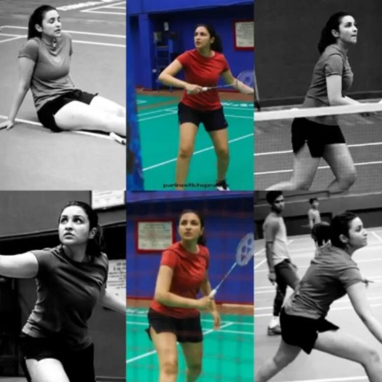 Saina Nehwal biopic: Parineeti Chopra shows her transformation as a badminton player