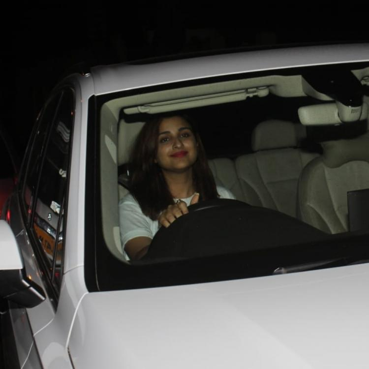 PHOTOS: Parineeti Chopra is all smiles as she arrives at Priyanka Chopra's residence