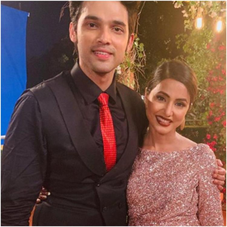 Kasautii Zindagii Kay: Parth Samthaan bids an emotional goodbye to Hina Khan; says I learnt a lot from you
