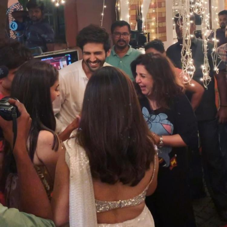 Pati Patni Aur Woh: Kartik Aaryan, Ananya Panday and Bhumi Pednekar wrap up the final schedule of the film