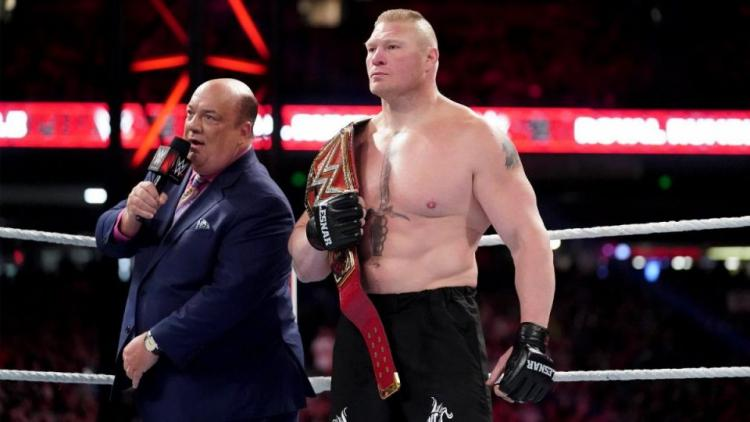 Brock Lesnar lost the Universal Championship match against Seth Rollins at SummerSlam 2019.