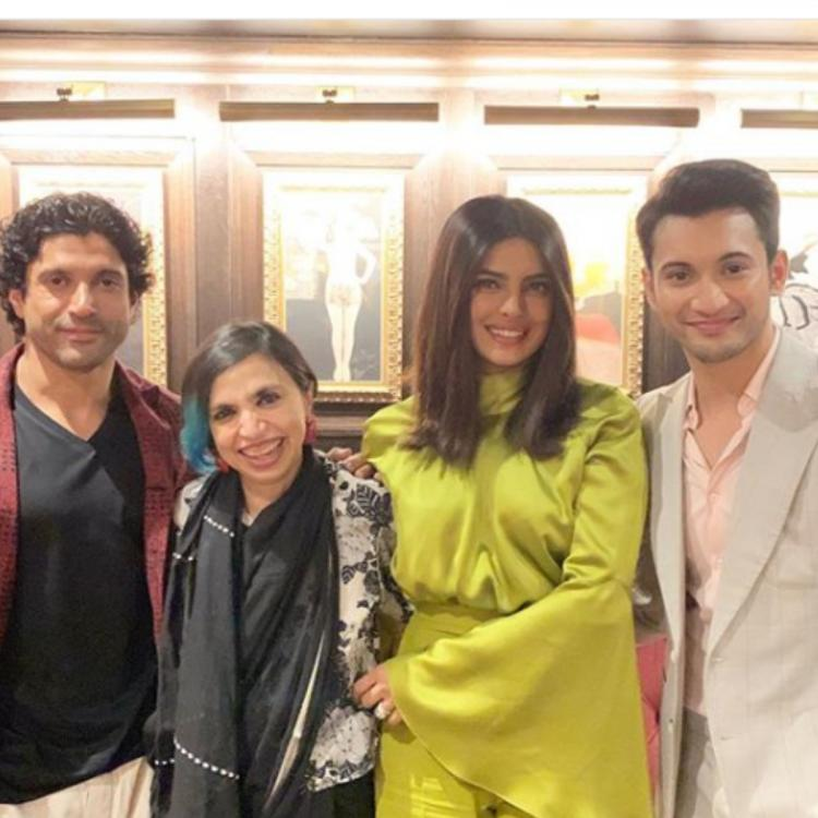 Priyanka Chopra Jonas, Farhan Akhtar and team The Sky Is Pink pose for a picture ahead of premiere at TIFF