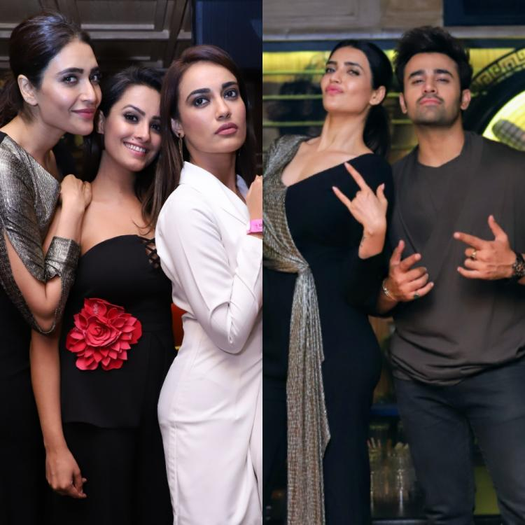 Naagin 3 stars Anita Hassanandani, Surbhi Jyoti and Karishma among others attend Pearl V Puri's bash; See pics