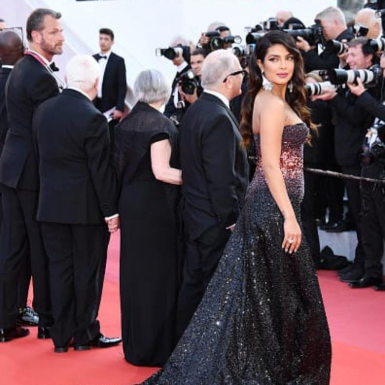 Cannes 2019: Priyanka Chopra sparkles in an embellished black gown at the Cannes red carpet: Yay or Nay?