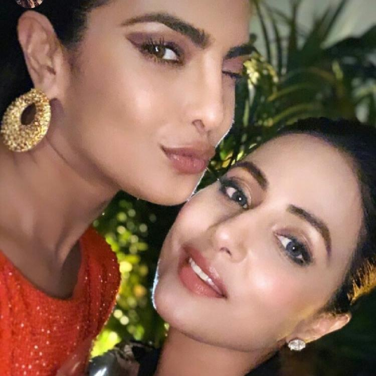 Hina Khan wishes Priyanka Chopra Jonas with a throwback selfie from Cannes 2019 and it's all things cute