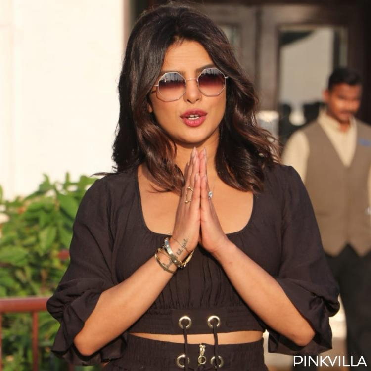PHOTOS: Priyanka Chopra looks stunning in black as she arrives for the promotions of The Sky is Pink