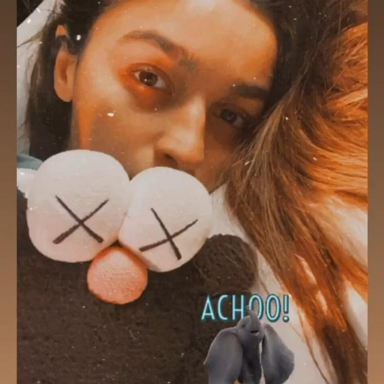 PHOTO: Alia Bhatt shares a selfie on a sick day and we wish her a speedy recovery