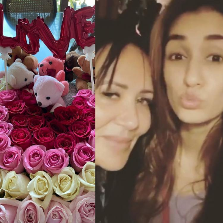 PHOTO: Disha Patani showers Tiger Shroff's mom with love on Valentine's Day; Ayesha is all hearts for it