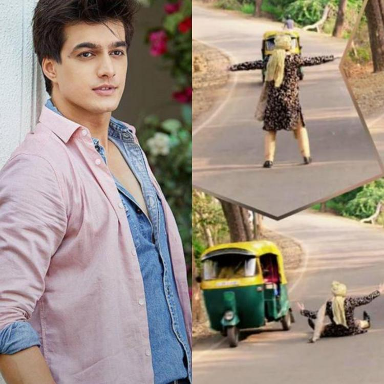PHOTO: Yeh Rishta Kya Kehlata Hai actor Mohsin Khan's fun banter with an auto driver will leave you in splits