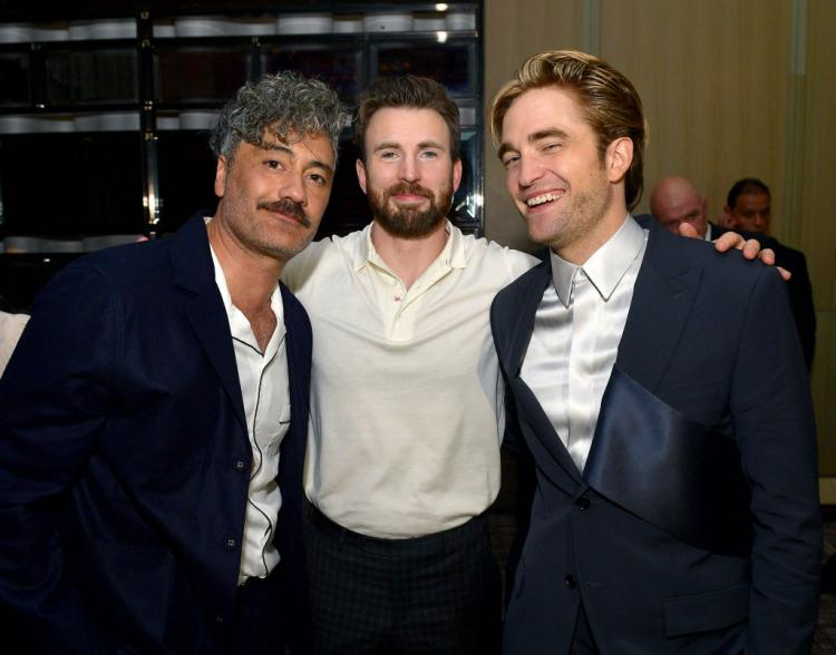 Chris Evans and Robert Pattinson attended the premieres of their respective films, Knives Out and The Lighthouse, at TIFF 2019.