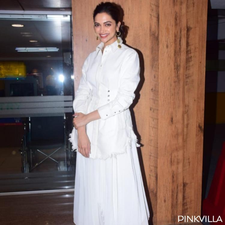 PHOTOS: Deepika Padukone is a beautiful vision in white as she visits a multiplex to promote Chhapaak