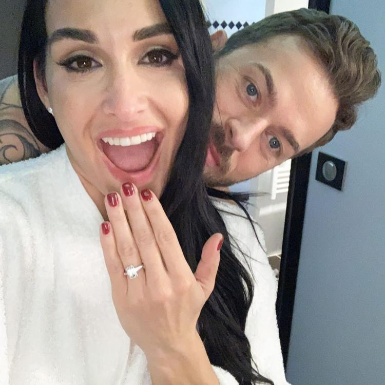 Nikki Bella and Artem Chigvintsev first confirmed their relationship in March 2019.