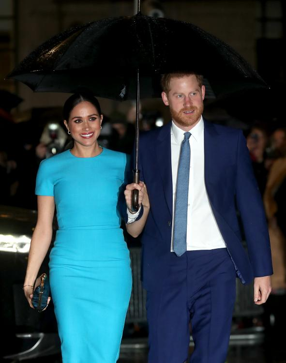 Prince Harry and Meghan Markle were literally radiating as they attended the annual Endeavour Fund Awards in London.