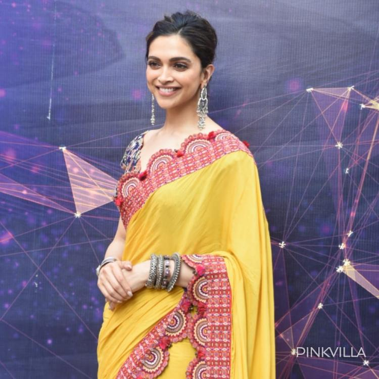 PHOTOS: Deepika Padukone stuns in a yellow saree as she heads out for Chhapaak promotions