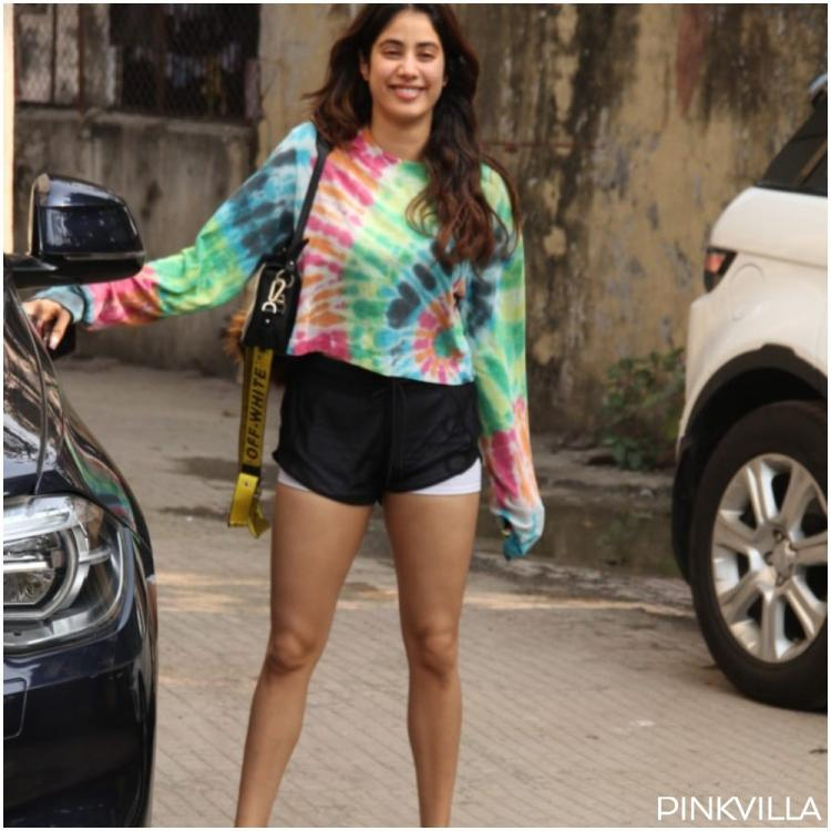 PHOTOS: Janhvi Kapoor lights up the internet as she shows up in a 'rainbow avatar' post Pilates session