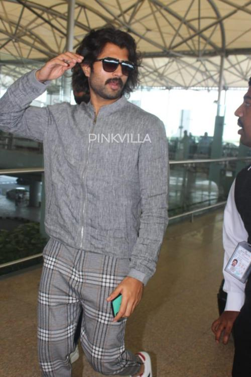 PHOTOS: Vijay Deverakonda rocks an all grey on grey look at the airport; is this new avatar for Fighter?