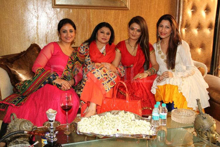 Actress Sheeba Hosts A Mehndi Party