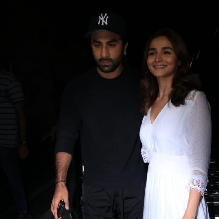 PHOTOS: Ranbir Kapoor & Alia Bhatt attend the special screening of De De Pyaar De