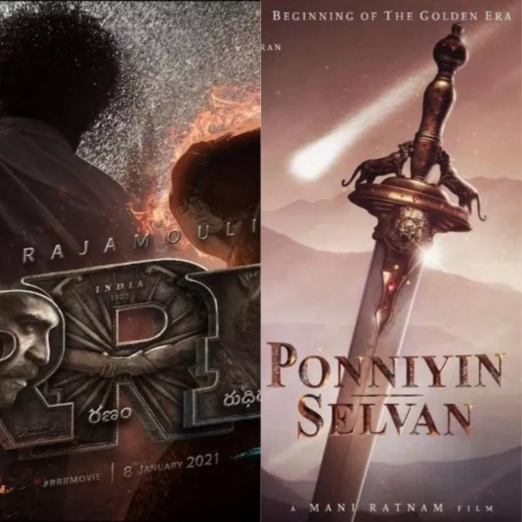 Poll Which mega budget film are you waiting to watch SS Rajamouli's RRR or Mani Ratnam's Ponniyin Selvan