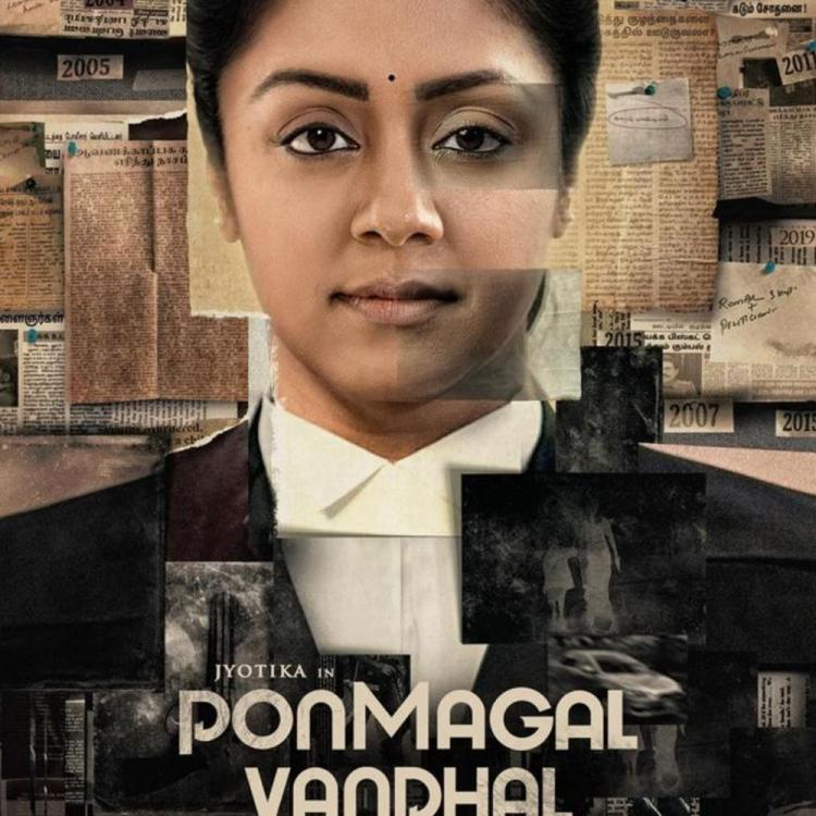 Jyotika starrer Ponmagal Vandhal's motion poster unveiled; Trailer to release on THIS date