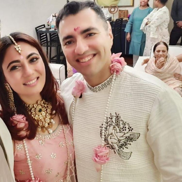 Kyunki Saas Bhi Kabhi Bahu Thi star Pooja Ghai ties the knot for the second time with long time beau; See Pic