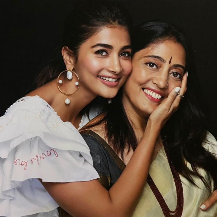 PHOTO: Pooja Hegde writes a heartwarming message on her mother's birthday; calls her an inspiration