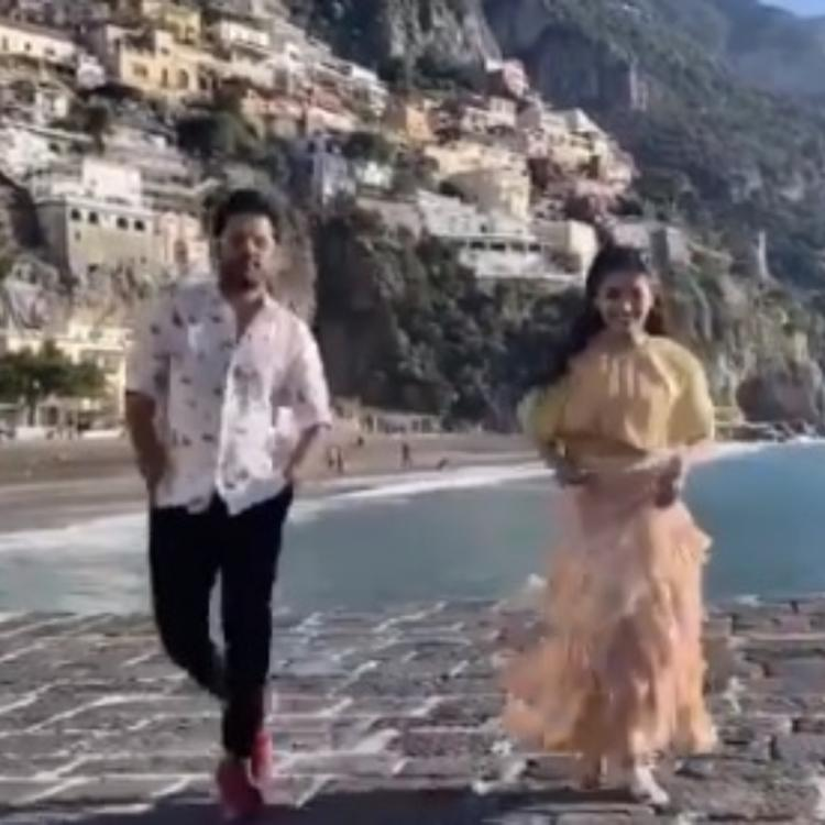 Rashmika Mandanna & Nithiin pay a sweet tribute to Hrithik Roshan as they shoot for Beeshma; Check it out