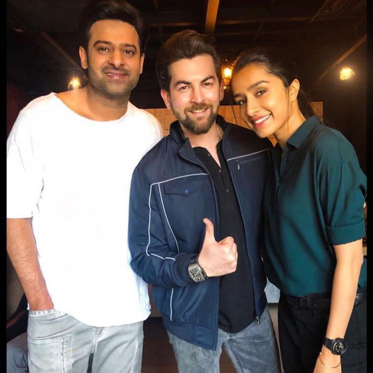 Saaho: Neil Nitin Mukesh shares emotional note as he wraps up the last schedule with Prabhas & Shraddha Kapoor