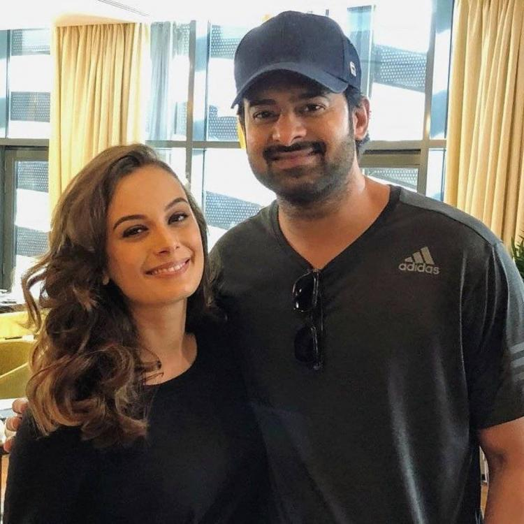 Saaho actor Prabhas helped Evelyn Sharma learn Telugu