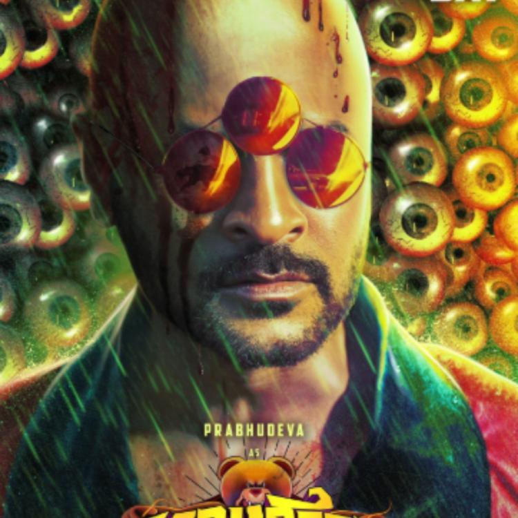 Bagheera FIRST LOOK: Prabhu Deva's tonsured head and wacky appearance has piqued the interest of fans