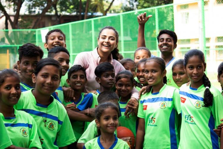 Exclusive: Mamangam star Prachi Tehlan celebrates birthday playing basketball with underprivileged kids