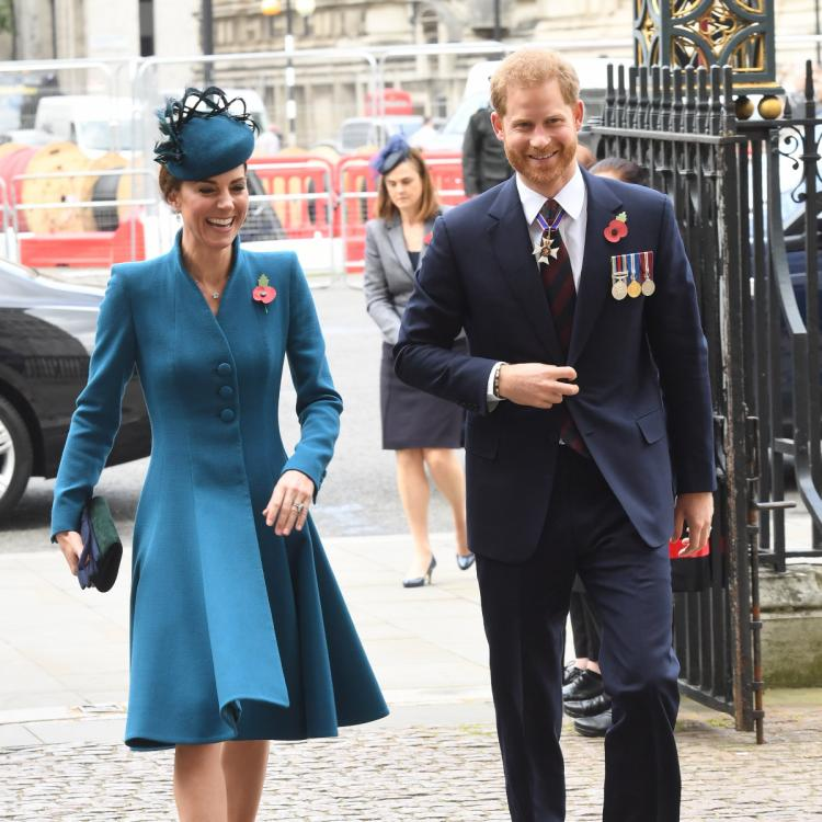 Prince Harry's Attendance At Anzac Day Service With Kate