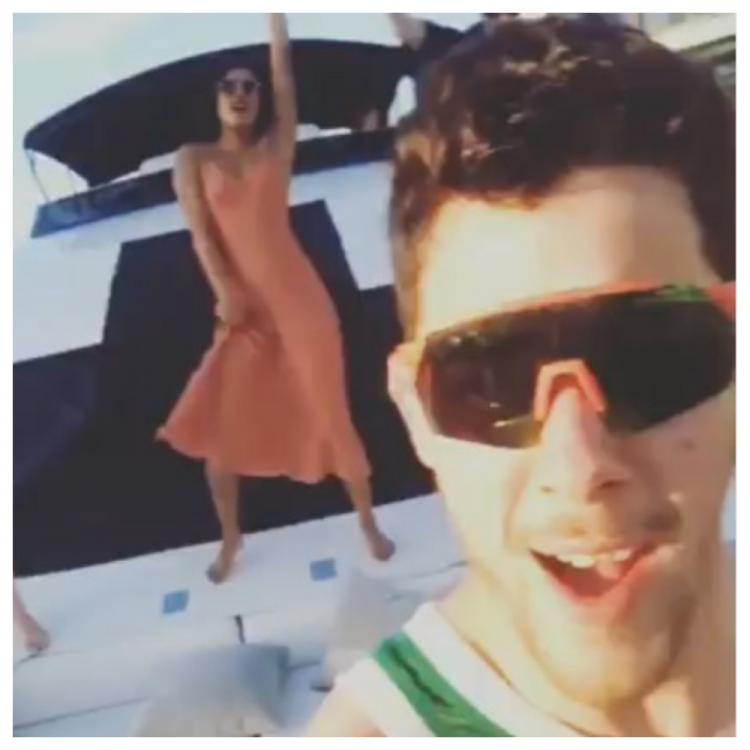 Priyanka Chopra and Nick Jonas are vacationing in Miami