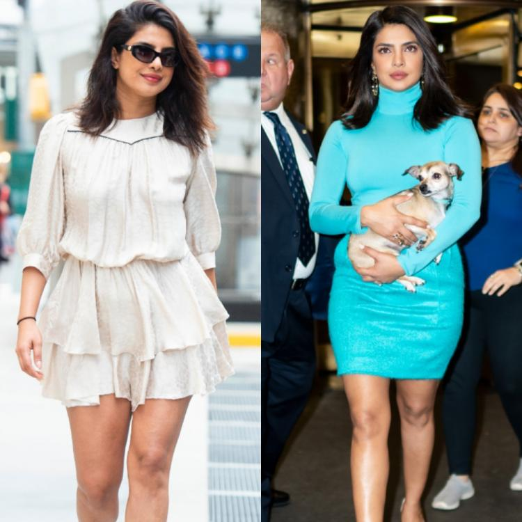 PHOTOS: Priyanka Chopra Jonas takes over the streets of New York in style and nails two chic looks in one day