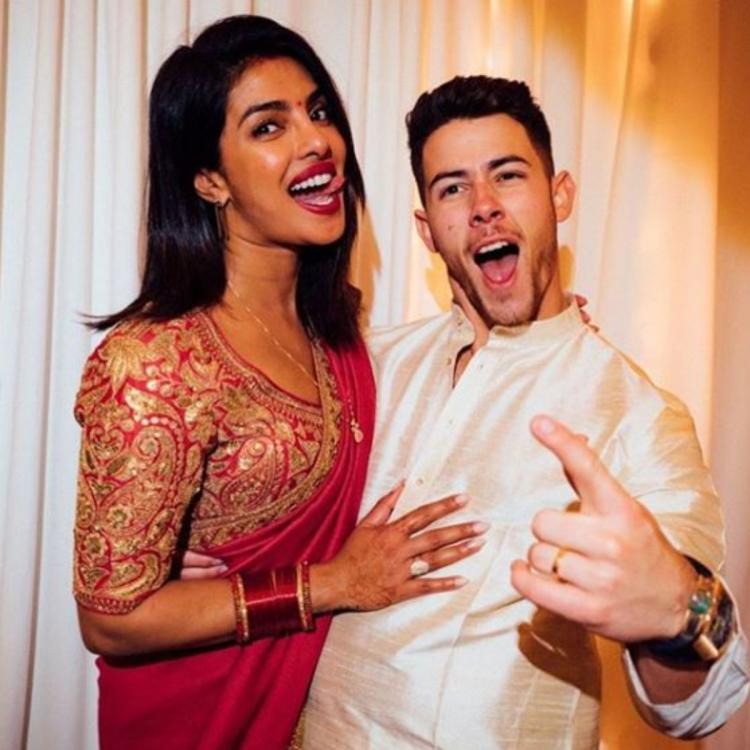 PHOTOS: Nick Jonas gushes about Priyanka Chopra as he celebrates the coolest Karwa Chauth; Check it out