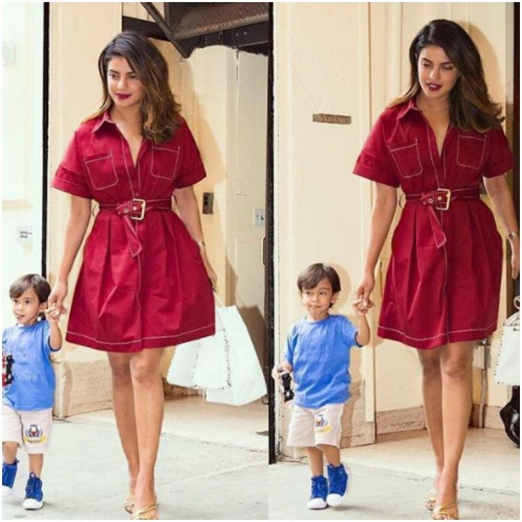 Priyanka Chopra Jonas' adorable throwback photo with Salman Khan's nephew Ahil Sharma is too cute to miss