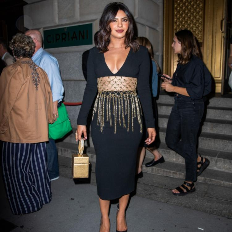 PHOTOS: Priyanka Chopra Jonas looks breathtaking in a black dress at Oscar De La Renta's show at NYFW 2019