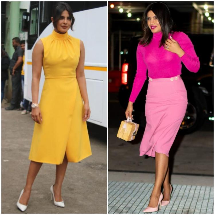 Priyanka Chopra Jonas' promotional looks for The Sky Is Pink will take you from festive to party in a jiffy